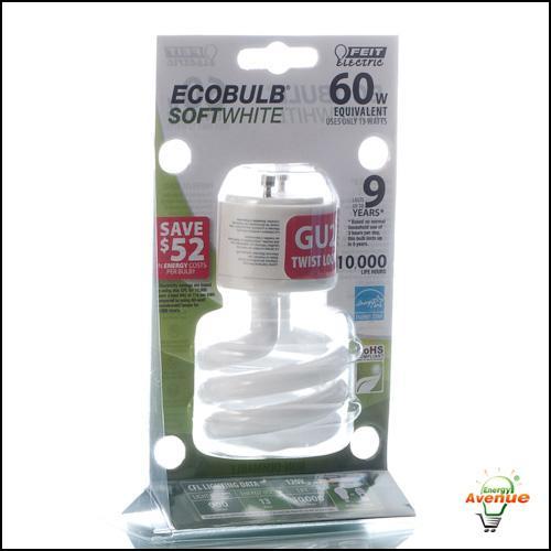 Feit - ESL13T/GU24 - Spiral CFL